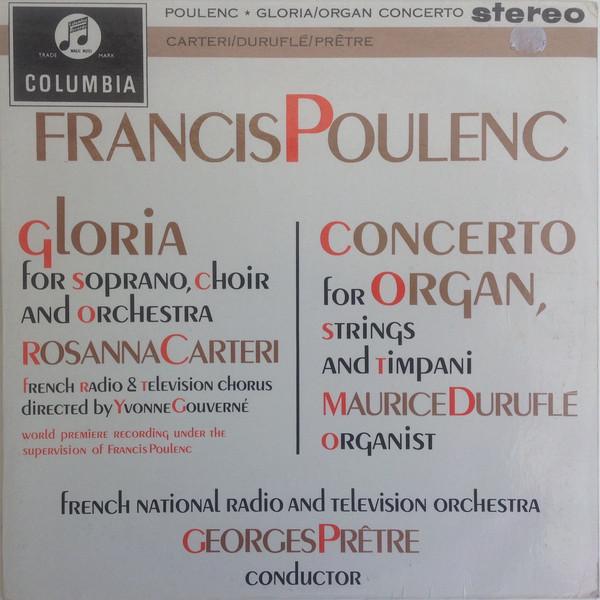 Gloria/ Concerto For Organ